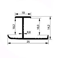 Профиль соединительный H10-11 мм