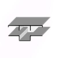 Соединительный профиль «Омега» с крышкой «Т»